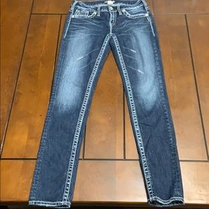 Silver Aiko Slim Jeans size 28